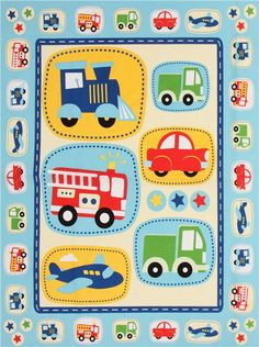 blue vehicle fabric Daily Commute Panel