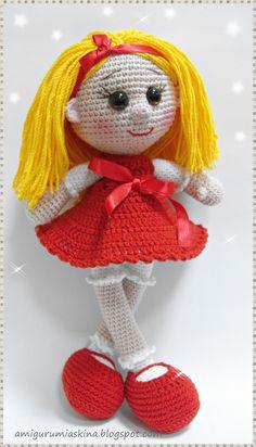 Amigurumi+Dolls | ... Aşkına Örgü Oyuncaklarım: Amigurumi Sarı Şeker-Amigurumi doll