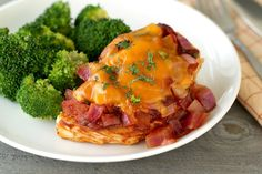 Hungry Girl's Healthy BBQ Chicken Bake Recipe --Oh MY this is delish!!