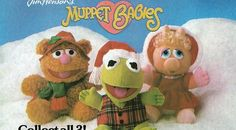 Christmas Muppet Babies, Disney Plush dolls, and Pound Puppies all at Hardee's and McDonald's back in the 80s.