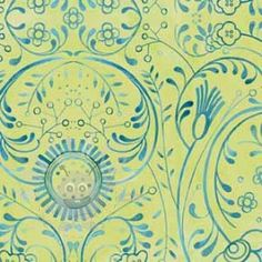 IN THE BEGINNING Bohemia Art Background, Swirls, Sewing Crafts, Printing On Fabric, Cotton Fabric, Tapestry, Quilts, Flowers, Yard