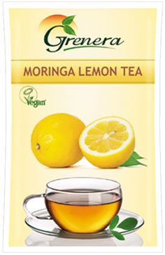 Moringa lemon tea contains dried Moringa leaves, Moringa fruit pieces in combination with lemongrass pieces and natural lemon flavor. The lemon grass gives aromatic lemon flavor and taste to the healthy infusion and this is preferred as a refreshing evening drink.
