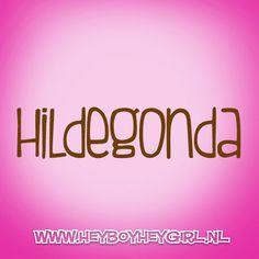 Hildegonda (Voor meer inspiratie, en unieke geboortekaartjes kijk op www.heyboyheygirl.nl)