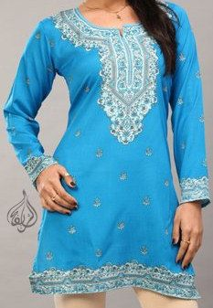 Alsharifa.com - Rana Hip-Length Indian Kurti Tunic, $12.00 (http://shop.alsharifa.com/rana-hip-length-indian-kurti-tunic/)