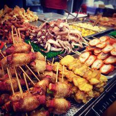 Hong Kong Street Food #yummyfood #hongkong - @kate_monaandmidge- #webstagram