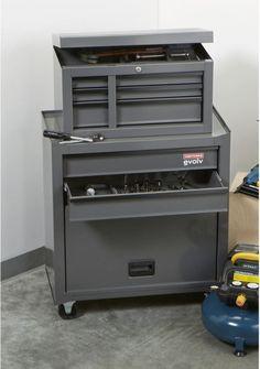 Craftsman Tool Chest 5 Drawer Mobile Mechanics Tools Box Garage Storage Cabinet #CraftsmanToolChest