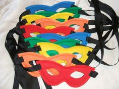 superhero party ideas | Love these for favors for a super hero party. by MaryAnnK
