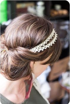we are loving double headbands for summer! @myweddingdotcom
