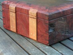 Decorative Box Hinges Lidded Keepsake Box With Exotic Woods  Woodworking Project
