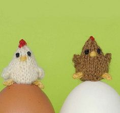 Knit Chickens