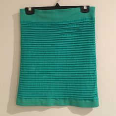 BCBG Bandage Skirt/Top in Green✨ ✨BCBG Bandage Skirt/Top in Green✨ Can be worn multiple ways✨ BCBGeneration Skirts Mini