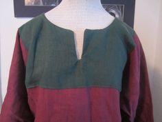 Linen Keyhole Tunic Custom Shirt SCA by CamelotCreationscom, $50.00