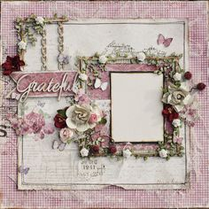 Such a Pretty Mess: NEW! Scrapbook Diaries Kit Page & VIDEO TUTORIAL! {Maja Design Papers!}