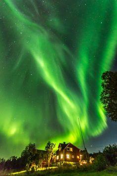 Aurora borealis Photo by M. Tudor — National Geographic Your Shot