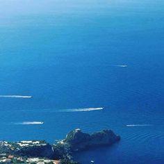 It looks so far down to walk to Amalfi [Sentiero Antica Repubblica]. For…