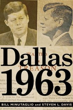 Dallas 1963.....a great novel to read. I learned a lot of things I had not gathered through previous research. I highly recommend this!!!!