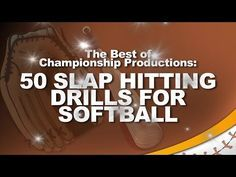 The Best of Championship Productions: 50 Slap Hitting Drills for Softball - YouTube