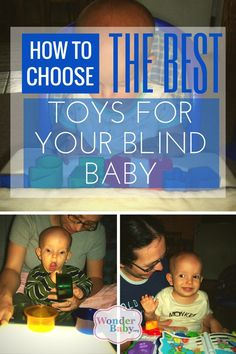 How do you know which toys will work best for your blind baby? Here are some of our favorite toys.