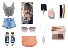 Untitled #1 by giabella-selzer on Polyvore featuring polyvore, fashion, style, rag & bone/JEAN, Converse, Michael Kors, Lucky Brand, Bobbi Brown Cosmetics, Chanel and clothing