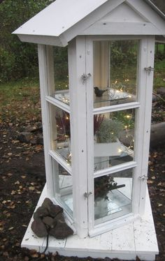 made from old windows by Katinka´s blog