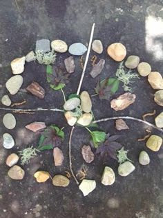 Art in nature can help regulate the nervous system and help us feel connected to something larger than our small self. feeling awe and wonder is associated with a greater sense of wellbeing.