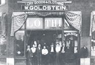 William Goldstein's dry goods