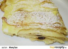 Sweet Dishes Recipes, Dessert Recipes, Desserts, Czech Recipes, Ethnic Recipes, Look Body, Smoothies, Sweet Tooth, Pancakes