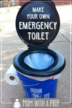 Mommy, I Have to Go Potty! Make Your Own Emergency Toilet - Mom with a PREP
