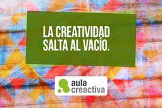 Pensamiento Creactivo del día:  ¡La creatividad salta al vacío!