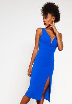 WAL G. Sukienka z dżerseju - blue - Zalando.pl