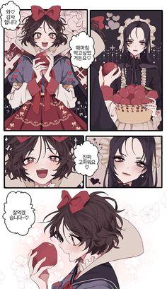 Anime Witch, Anime Demon, Cartoon As Anime, Manga Anime, Neji E Tenten, Character Art, Character Design, Romantic Manga, Anime Furry