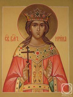 Artwork «Not titled St G, Byzantine Icons, Orthodox Christianity, Family First, Orthodox Icons, Religious Art, Worship, Catholic, Saints