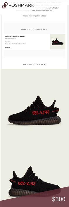 Adidas yeezy infant shoe size 5k Just