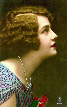 Lovely, 1920's profile...