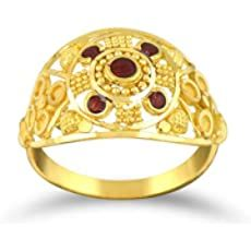 Buy Senco Gold 22k (916) Yellow Gold Ring at Amazon.in Gold Finger Rings, Ring Finger, Real Gold Jewelry, Yellow Gold Rings, Jewelry Stores, Rings For Men, Bracelets, Stuff To Buy, Amazon
