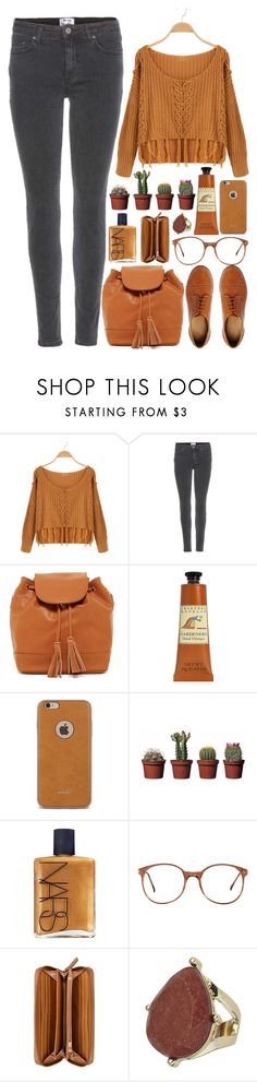 """""""And I hate that I can't say your name"""" by annaclaraalvez ❤ liked on Polyvore featuring Acne Studios, Urban Expressions, Crabtree & Evelyn, Moshi, NARS Cosmetics, American Apparel, Nine West, Topshop and ASOS"""