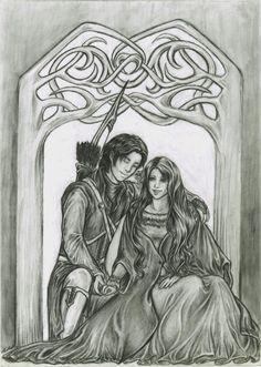 :Beleg and Nellas: by melime6.deviantart.com on @deviantART