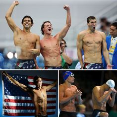 oh hello there! Hot Olympic Male Swimmers