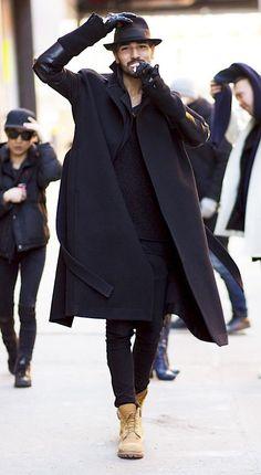 Willy Cartier streetstyle x NYFW ph. Man Street Style, Men Street, Street Wear, Mode Masculine, Men Looks, Fashion Moda, Mens Fashion, Fashion Trends, Fashion Black
