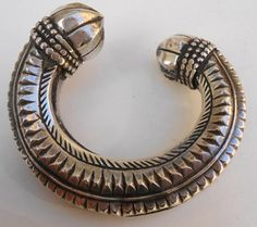 Bracelet, silver, from Rahjastan(India), aprox. 60 years old, beautifull piece of craftsmanship.
