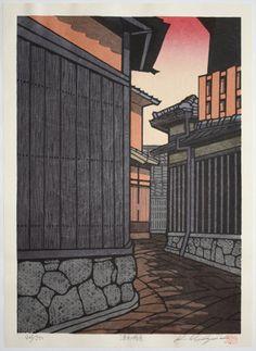 Unfolding - Japanese Woodblock Print by Katsuyuki Nishijima
