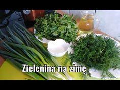 (23) Świeża zieleninka zimą. Szkoda że szybciej o tym nie widziałam. Fresh greens in winter. - YouTube Preserves, Green Beans, Herbs, Vegetables, Youtube, Preserve, Preserving Food, Herb, Vegetable Recipes