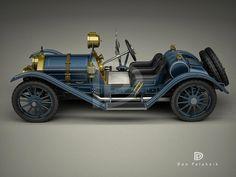 A Garagem Digital de Dan Palatnik | The Digital Garage Project: 1911 Mercer Runabout