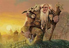 Sunrise Sovereign, a warrior giant.