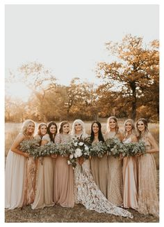 Country Wedding Photos, Country Style Wedding, Country Wedding Dresses, Boho Wedding, Dream Wedding, Western Bridesmaid Dresses, Country Chic, Western Wedding Ideas, Vintage Country