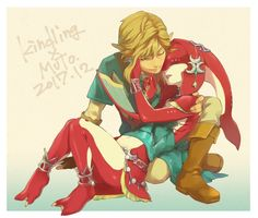 Link and Mipha