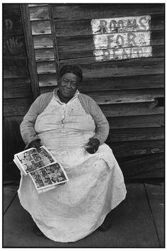 Henri Cartier-Bresson  USA. Mississipi. Vicksburg. 1947.