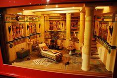 Wonderful Egyptian room by Mark Wu Ltd, via Flickr