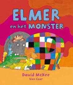 Kinderboek - Elmer en het monster