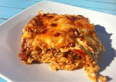 Pastitsio (Baked Greek Lasagna with Meat Sauce and Béchamel)